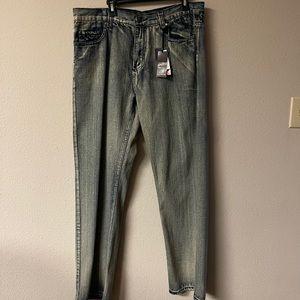 Old Skool - distressed / camo jeans 36x30